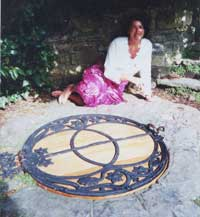 Elizabeth at the Chalice Well