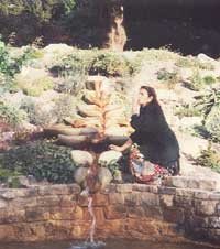 Elizabeth Keller at the Chalice Well